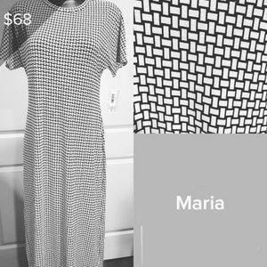 LuLaRoe Maria Maxi Dress NWOT